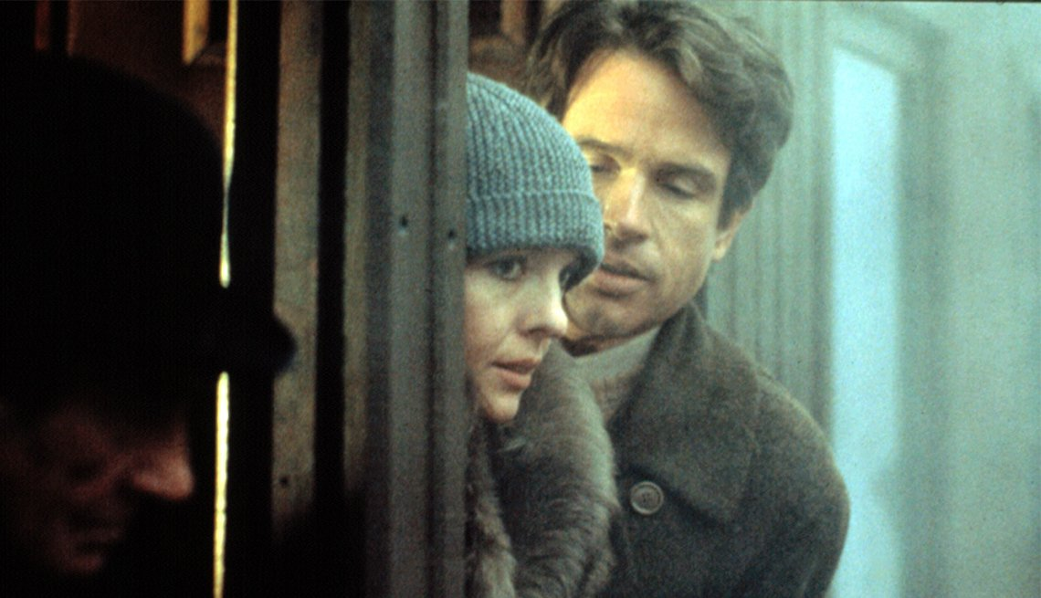 Diane Keaton and Warren Beatty in 'Reds'