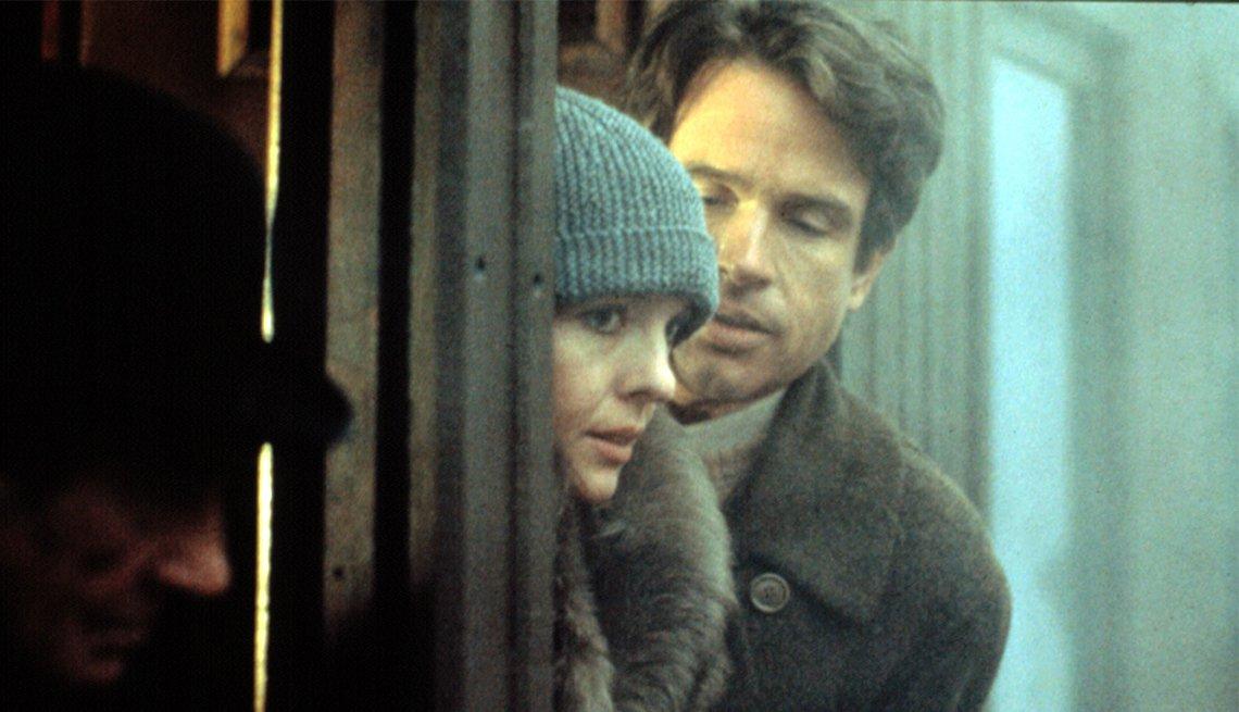 Diane Keaton and Warren Beatty in 'Reds'