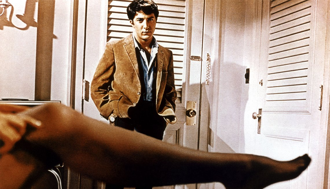 Dustin Hoffman, The Graduate, Movie, Readers Choice: The Essential Boomer Movies