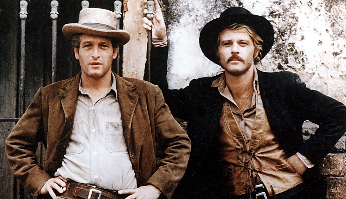 Paul Newman, Robert Redford, Actors, Butch Cassidy And The Sundance Kid Movie, Readers Choice: The Essential Boomer Movies