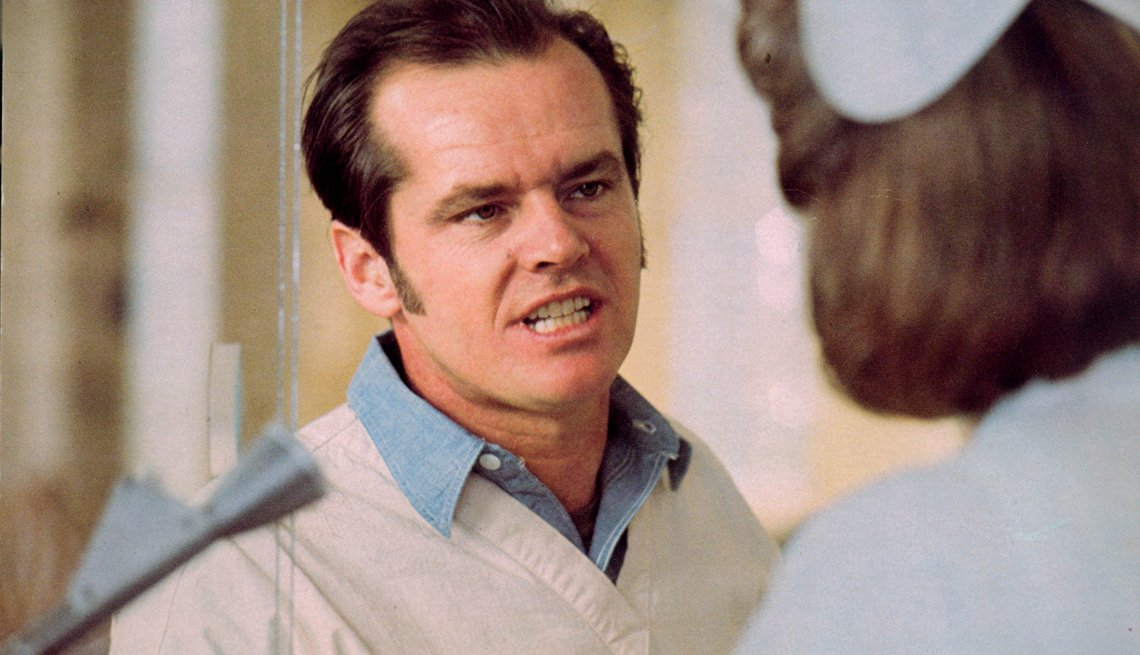 Jack Nicholson, Actor, One Flew Over The Cuckoo's Nest, Movie, Readers Choice: The Essential Boomer Movies
