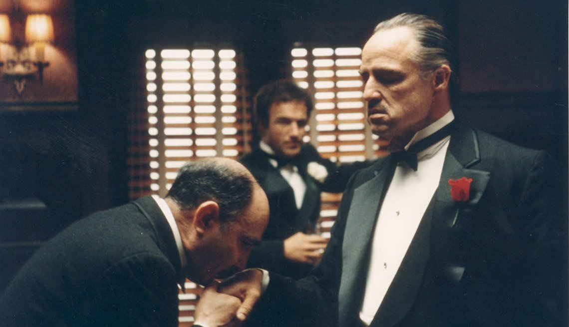 Marlon Brando, Actor, The Godfather, Movie, Readers Choice: The Essential Boomer Movies