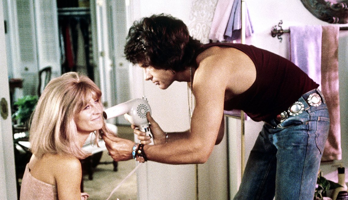 Julie Christie and Warren Beatty in 'Shampoo'