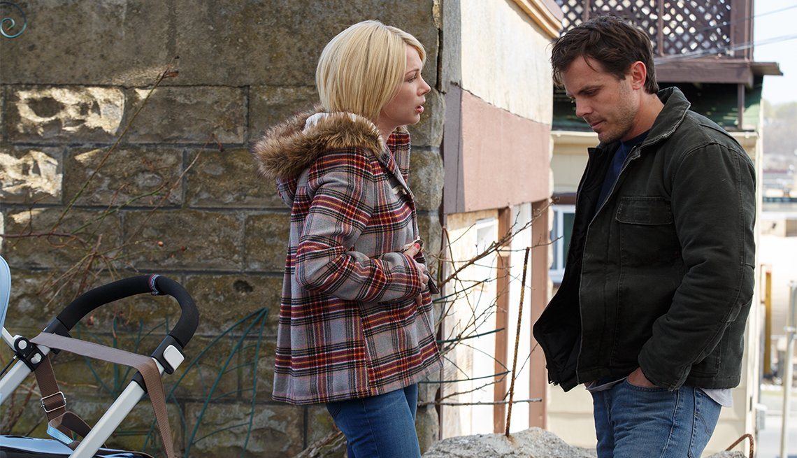 Michelle Williams and Casey Affleck in 'Manchester By the Sea'