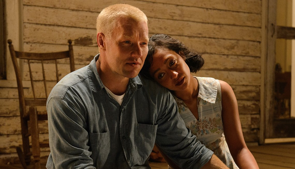 Joel Edgerton and Ruth Negga in 'Loving'