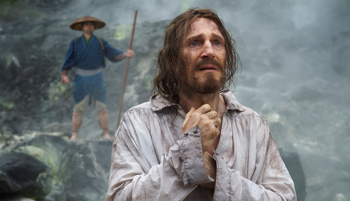 Liam Neeson in 'Silence'