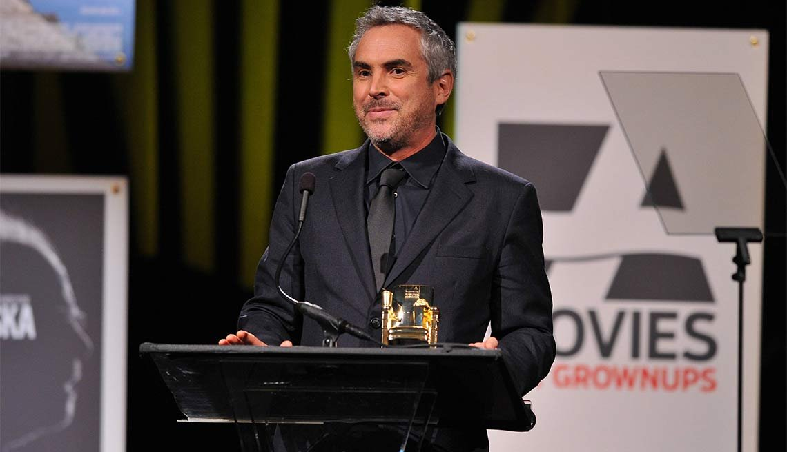 2014 AARP's Movies for GrownUps Gala, Alfonso Cuaron