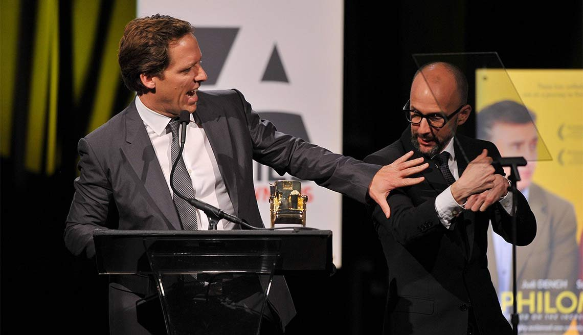 2014 AARP's Movies for GrownUps Gala, Nat Faxon and Jim Rash