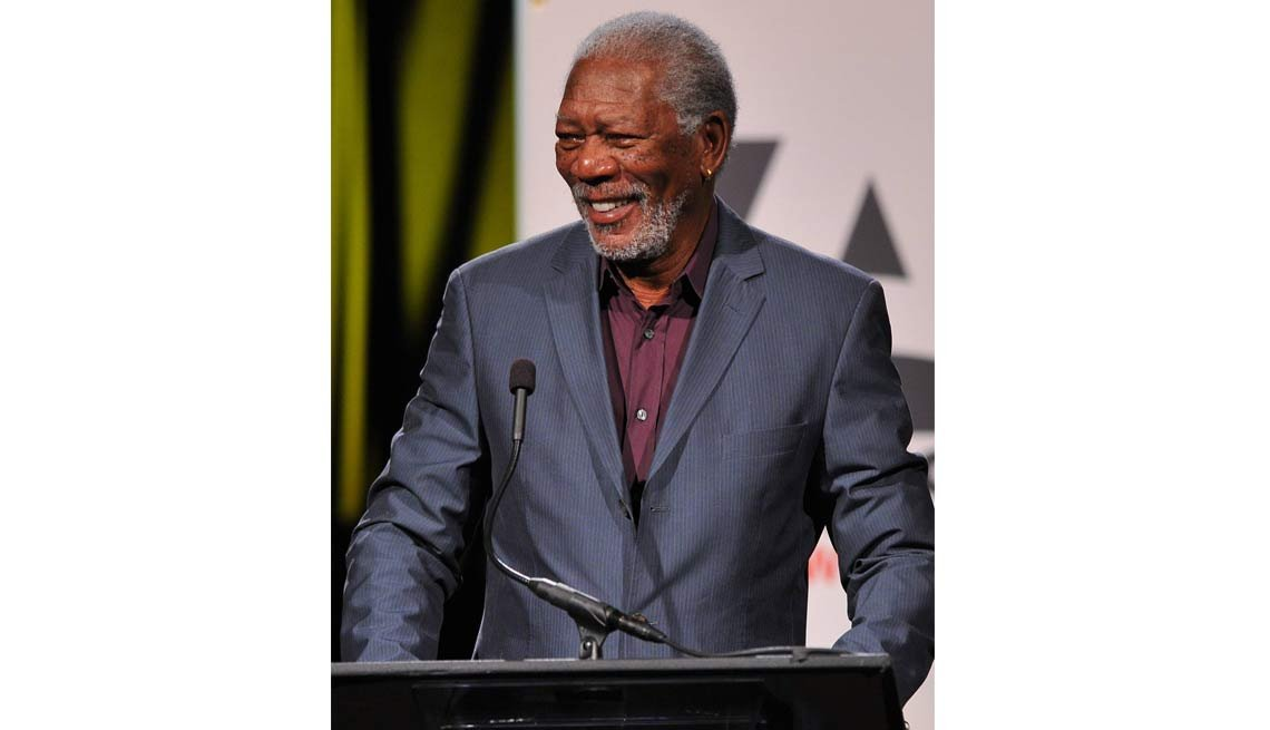 2014 AARP's Movies for GrownUps Gala, Morgan Freeman