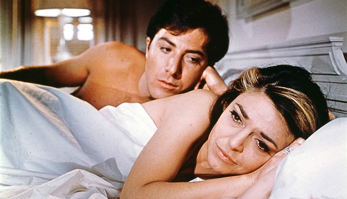 Dustin Hoffman in The Graduate