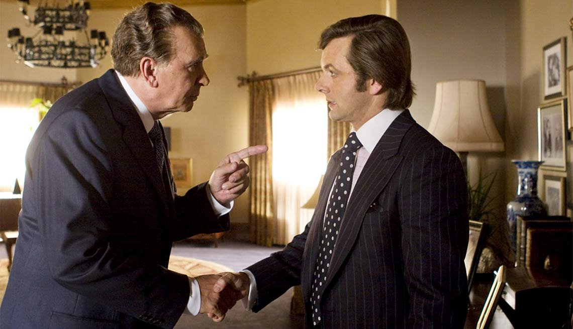 Frost/Nixon, Frank Langella, Michael Sheen. 2009