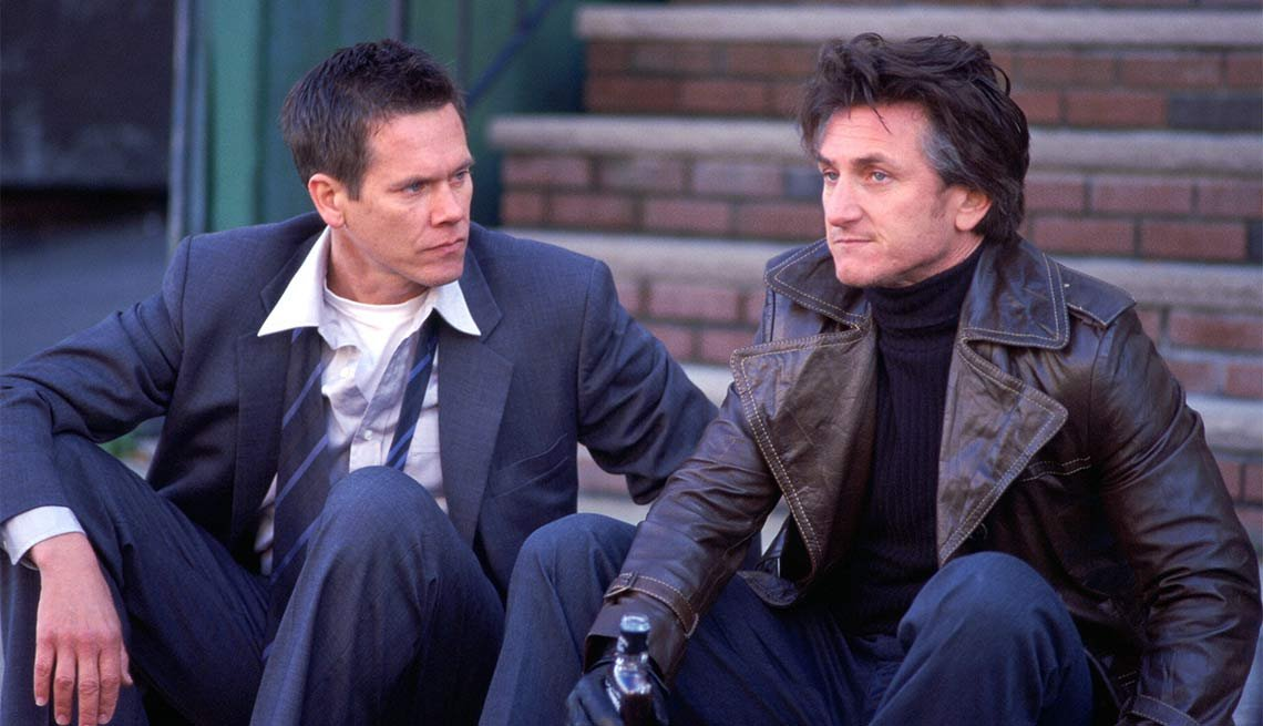 Mystic River, Kevin Bacon, Sean Penn, 2004