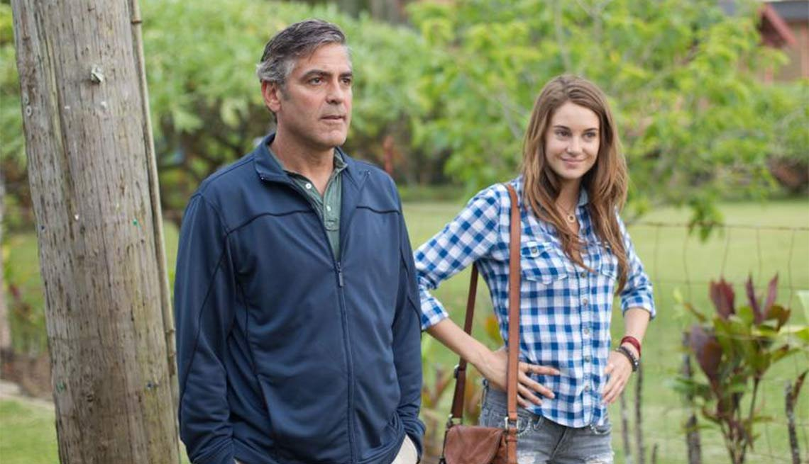 The Descendants, George Clooney