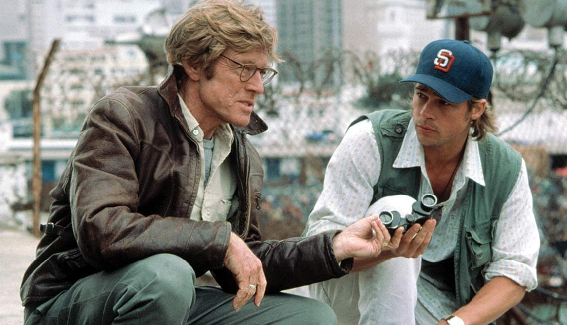 Robert Redford Films- Spy Game