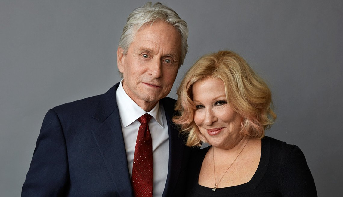 Michael Douglas and Bette Midler, Movies for Grown Ups 2016