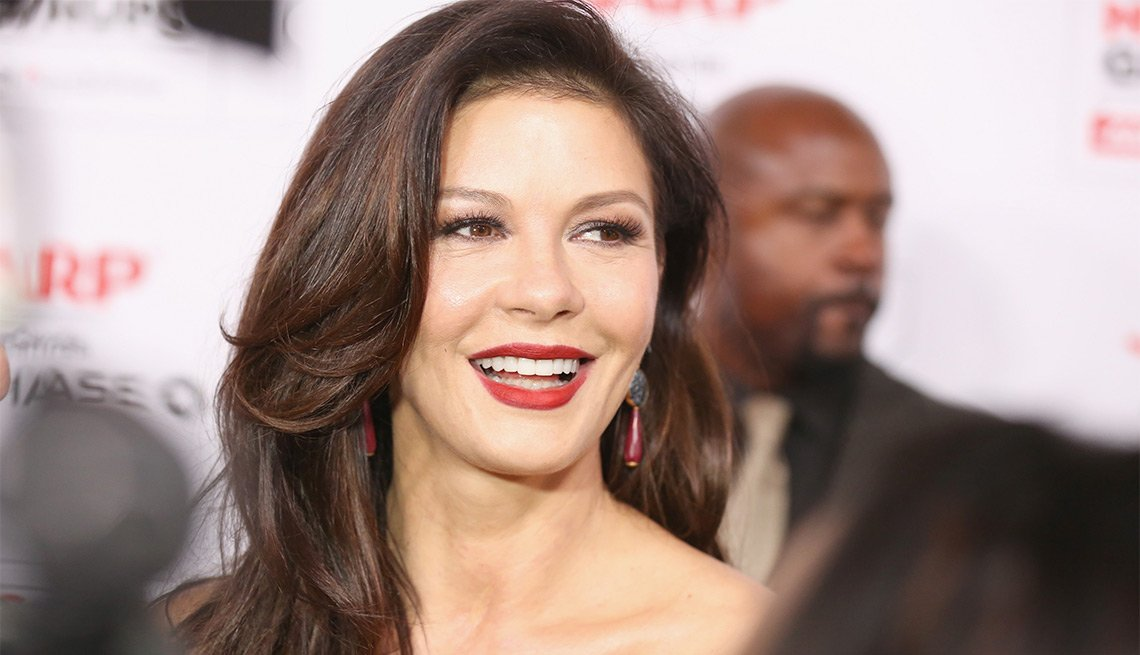 Catherine Zeta Jones attends the 15th Annual Movies For Grownups awards