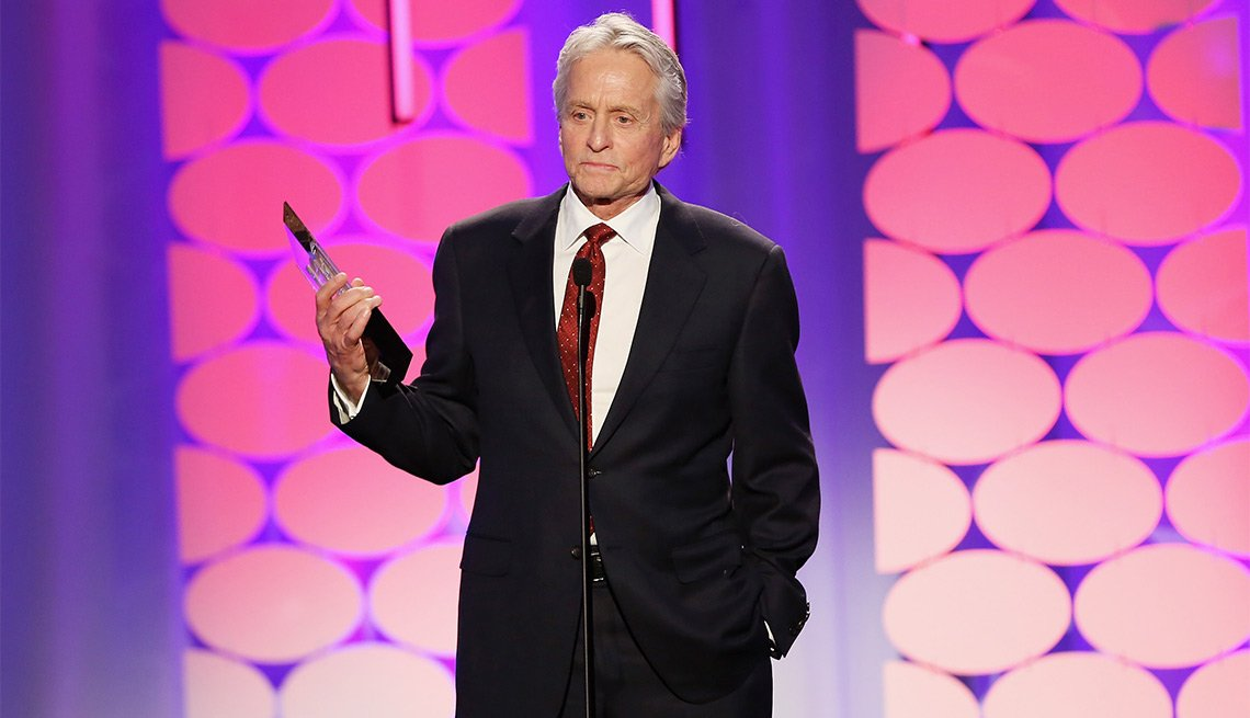 michael douglas 15th annual movies for grownups awards