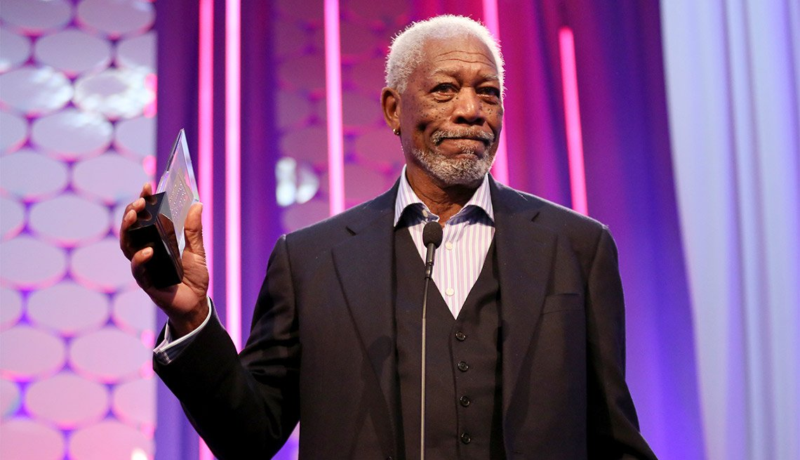 Morgan Freeman at the 15th annual movies for grownups awards