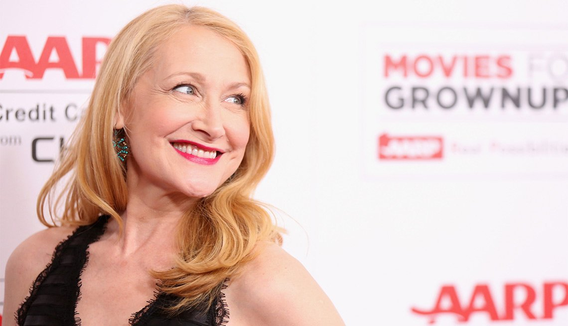Patricia Clarkson at AARPs 15th Annual Movies For Grownups Awards