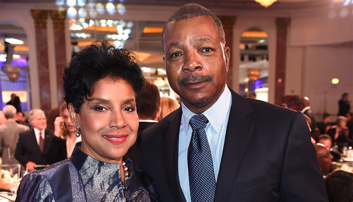 Phylicia Rashad and Carl Weathers at the 15th Annual Movies For Grownups awards