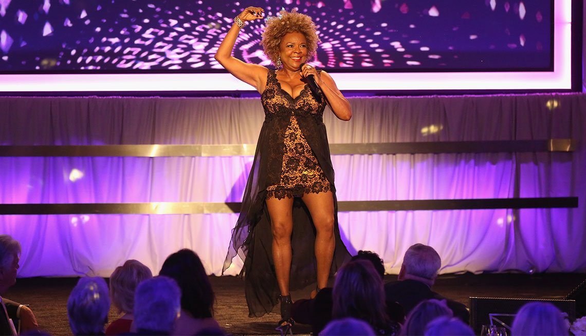 Thelma Houston preforms at AARP's 15th Annual Movies for Grownups awards