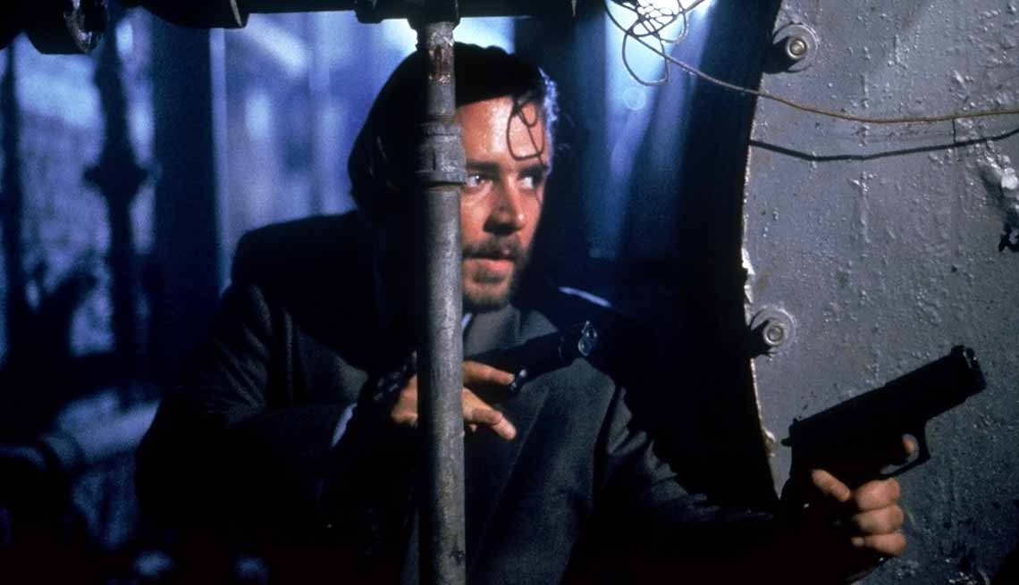 Russell Crowe in 'No Way Back'