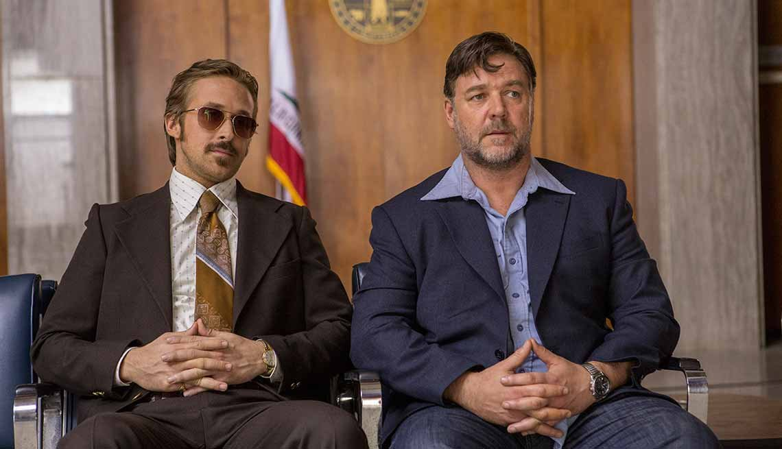Russell Crowe in 'The Nice Guys'