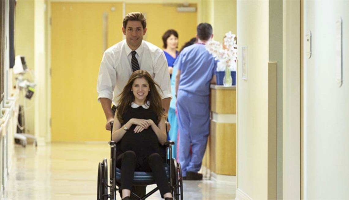 John Krasinski and Anna Kendrick in 'The Hollars'