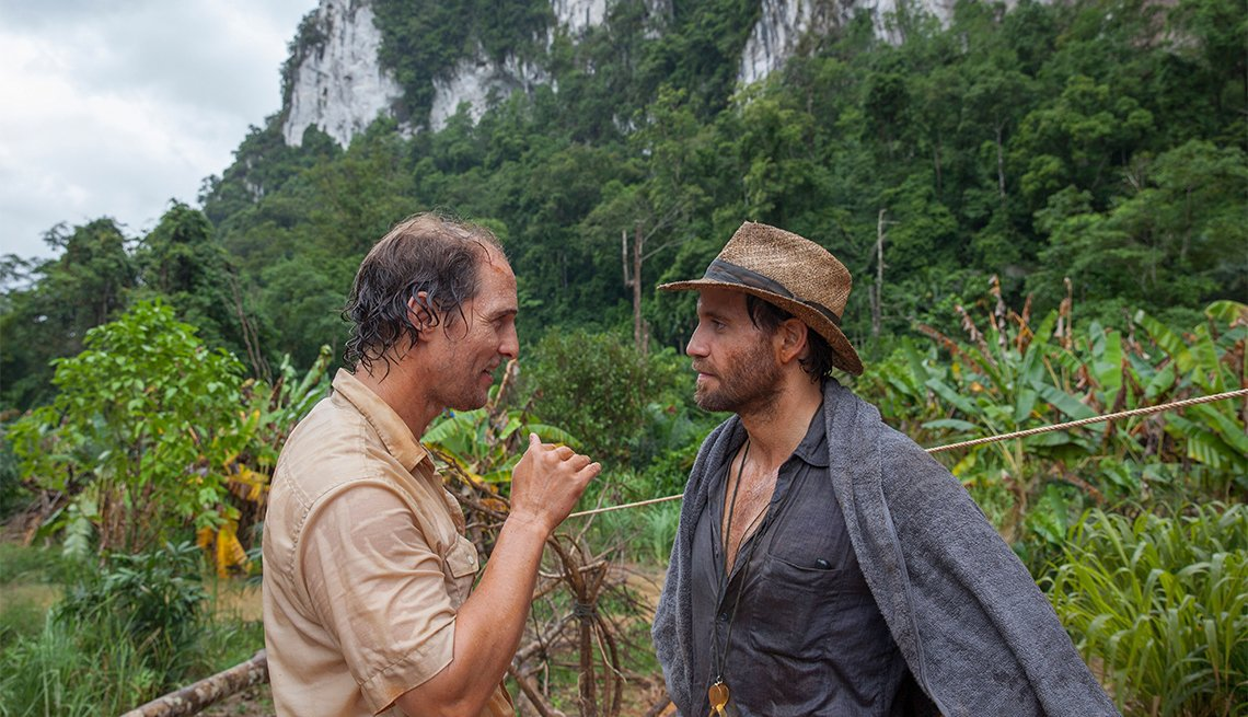 Matthew McConaughey and Edgar Ramirez in 'Gold'