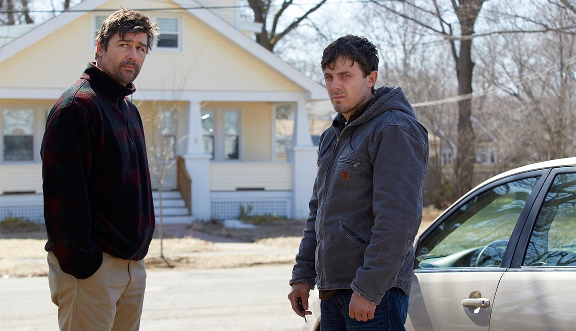Kyle Chandler and Casey Affleck in 'Manchester by the Sea'