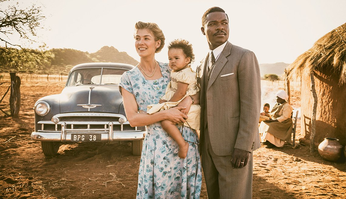 Rosamund Pike and David Oyelowo in 'A United Kingdom'
