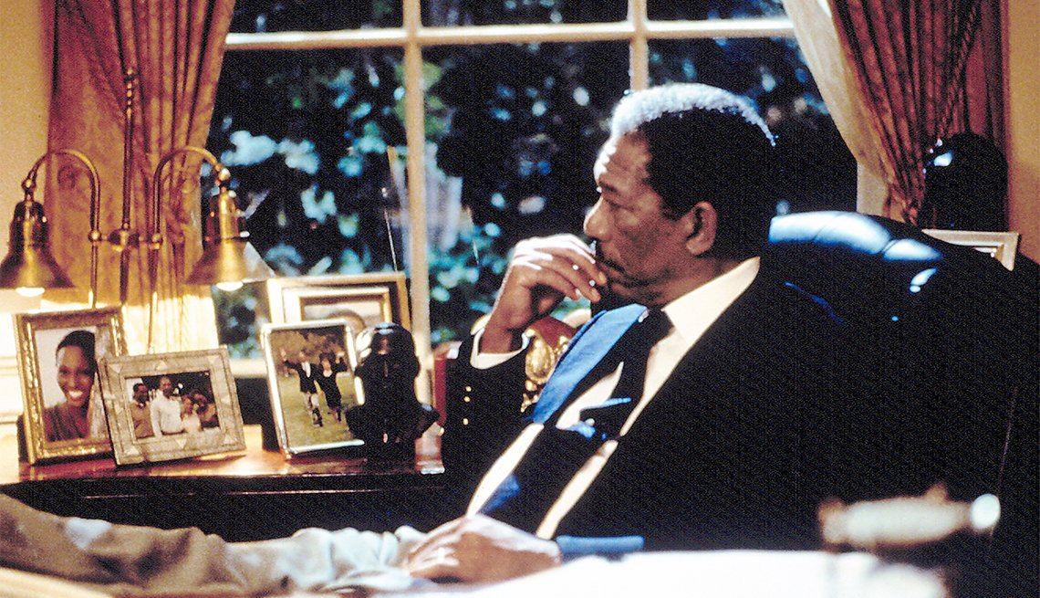 Morgan Freeman in 'Deep Impact'