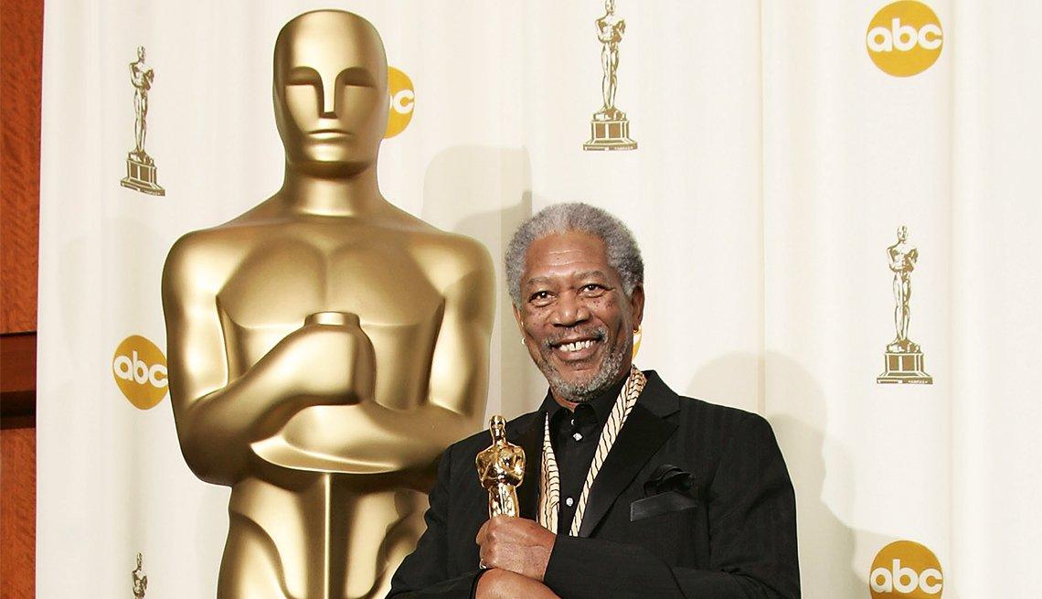 Morgan Freeman, Best Supporting Actor Oscar for 'Million Dollar Baby'