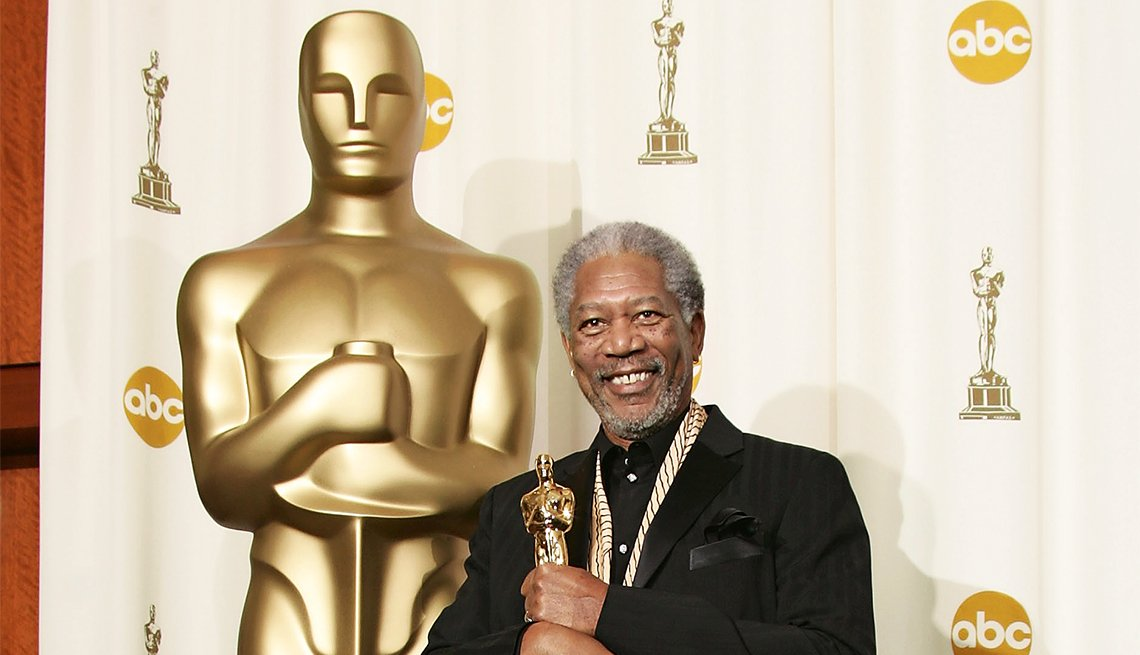 Morgan Freeman, Best Supporting Actor Oscar for 'Million Dollar Baby'
