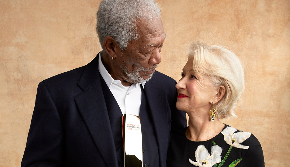 Morgan Freeman and Helen Mirren
