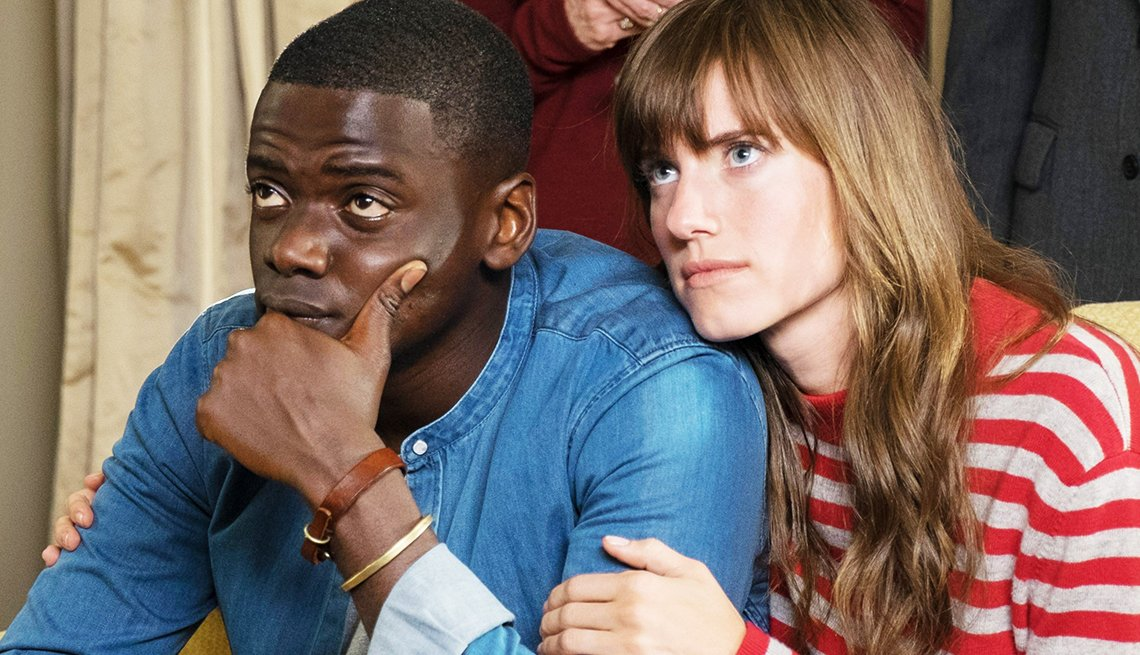 Daniel Kaluuya and Allison Williams in 'Get Out'