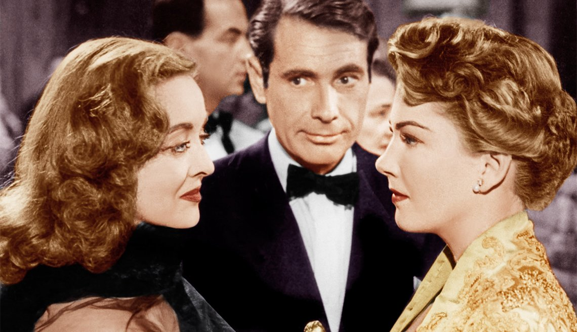 Bette Davis and Anne Baxter in 'All About Eve'