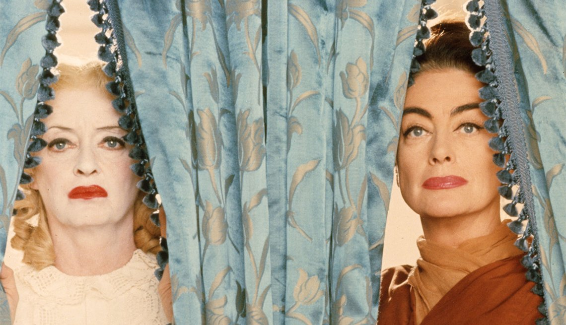 Bette Davis and Joan Crawford in 'Whatever Happened to Baby Jane?'