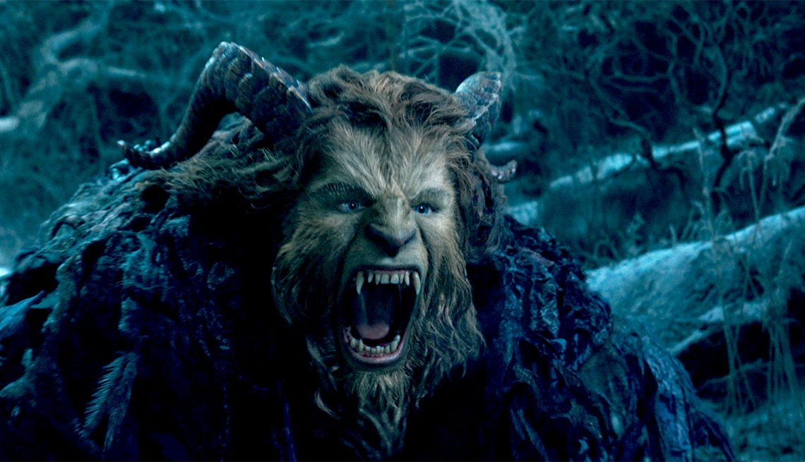 Dan Stevens as the voice of The Beast in 'Beauty and The Beast'