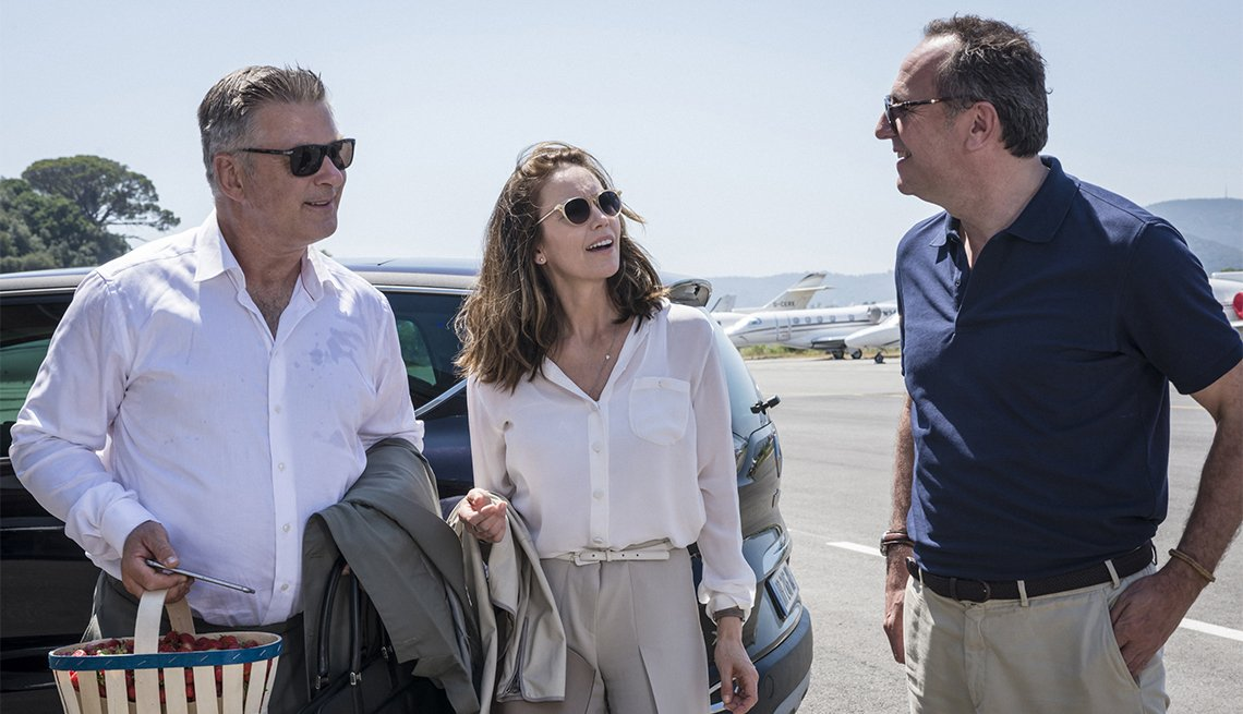 Alec Baldwin, Diane Lane and Arnaud Viard in 'Paris Can Wait'