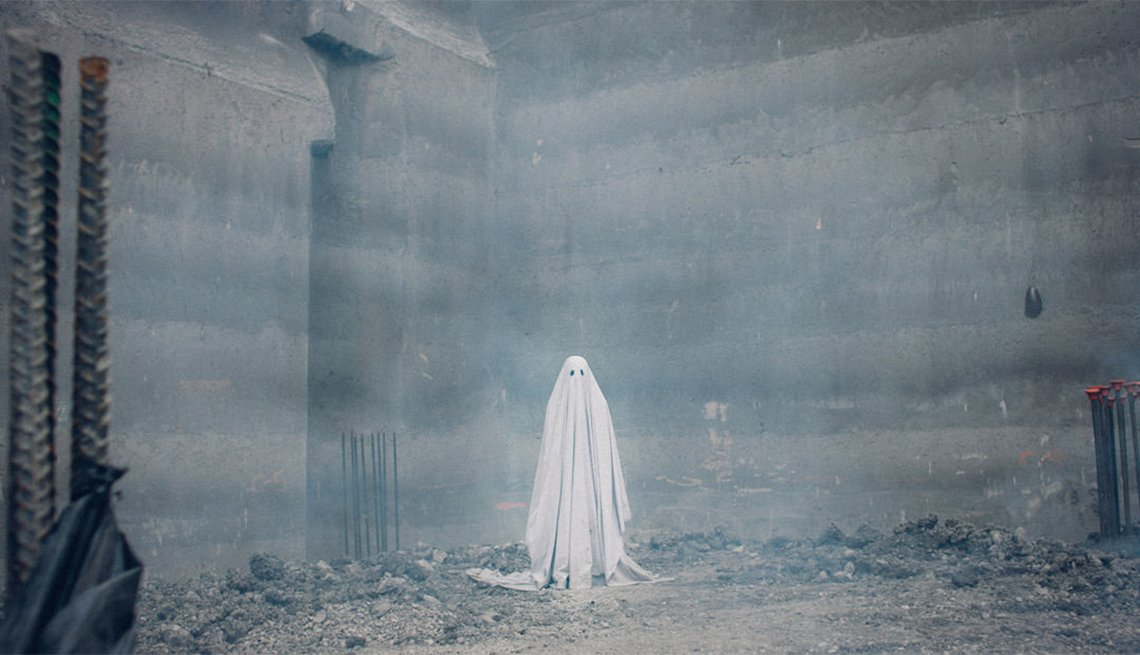 Casey Affleck in 'A Ghost Story'