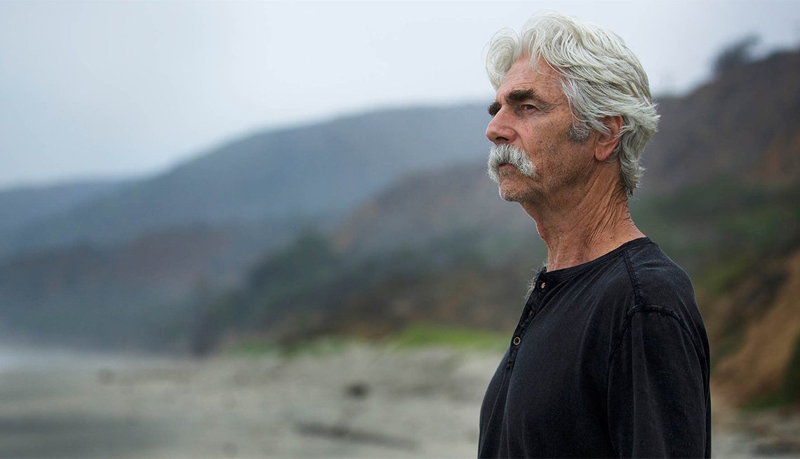 Sam Elliott in 'The Hero'
