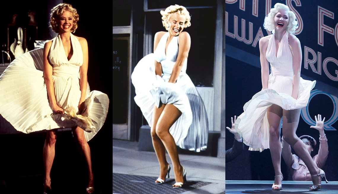 Playing Marilyn Monroe