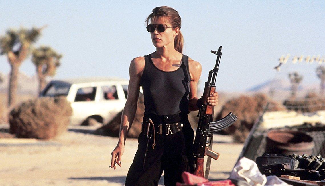 Linda Hamilton Returns to Terminator Franchise