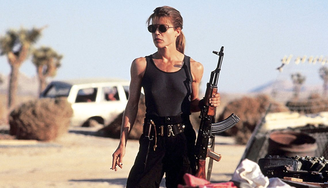 Linda Hamilton Returns to Terminator Franchise