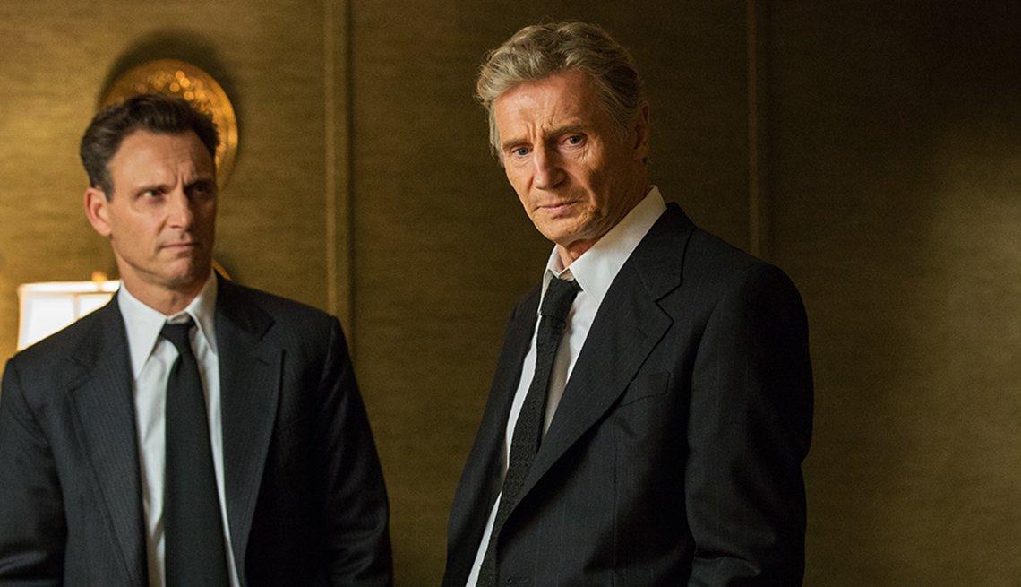 Josh Lucas and Liam Neeson in 'Mark Felt'