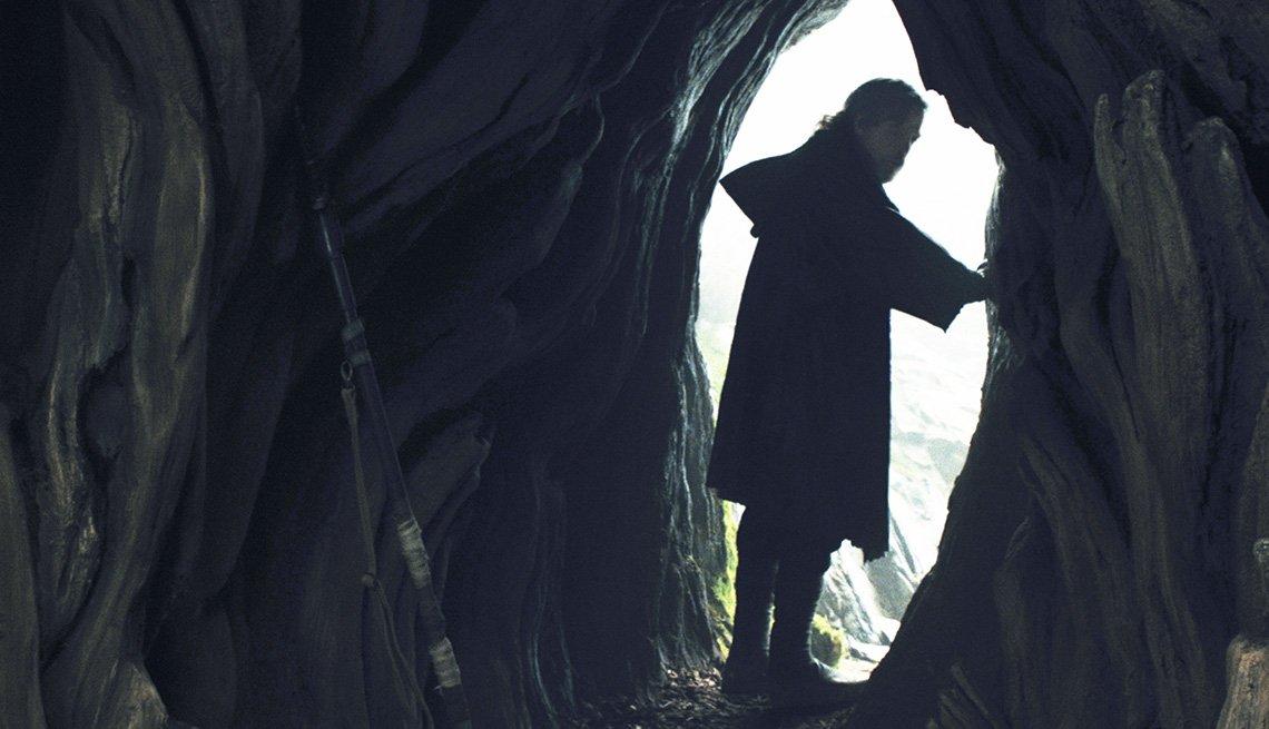 Mark Hamill in 'The Last Jedi'