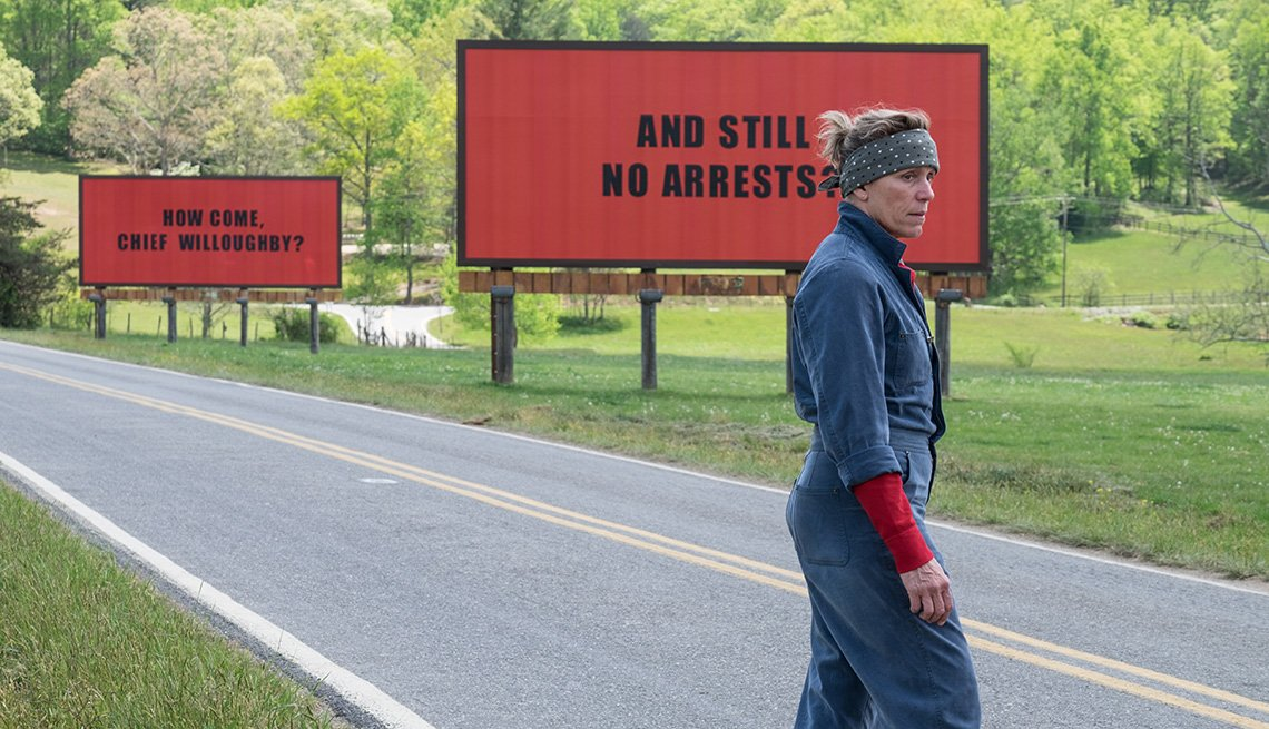 Frances McDormand in 'Three Billboards Outside Ebbing, Missouri'