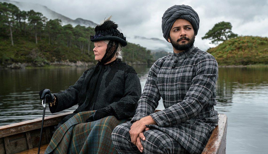 Judi Dench and Ali Fazal in 'Victoria And Abdul'