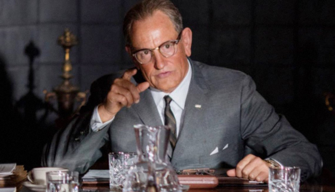 Woody Harrelson in 'LBJ'